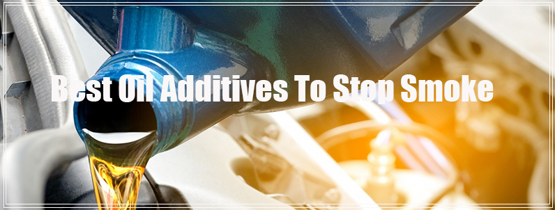 ✅Best Oil Additive To Stop Smoke (white and blue) from